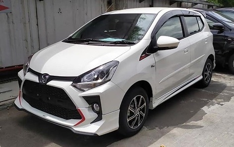 Toyota agya facelift trd